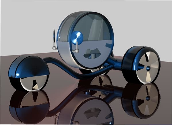 3d weeler car bike