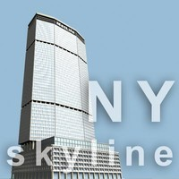 3d model metlife building