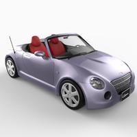 daihatsu copen convertible 3d model