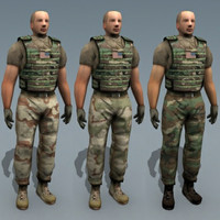 3d army driver model