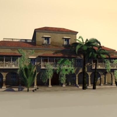 maya mexico house