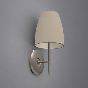 wall lamp 02 3d model