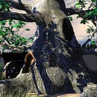 black tree 3d model
