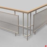 fence 3d max