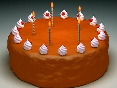 chocolate cake 3d 3ds
