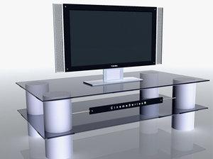 plazma screen 3d model