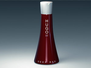 maya hugo deep red perfume