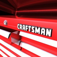 craftsman toolbox tool 3d model