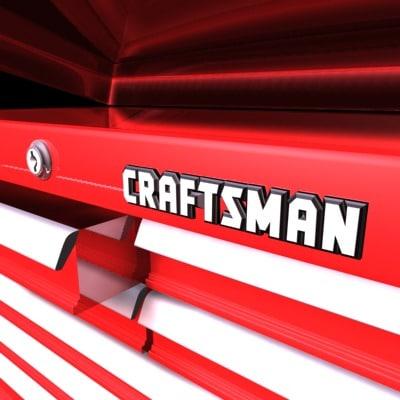 craftsman toolbox tool 3d model