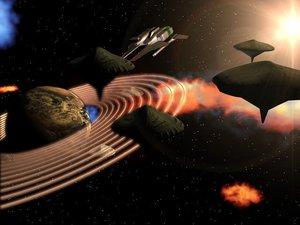 aircraft spaceship 3d model