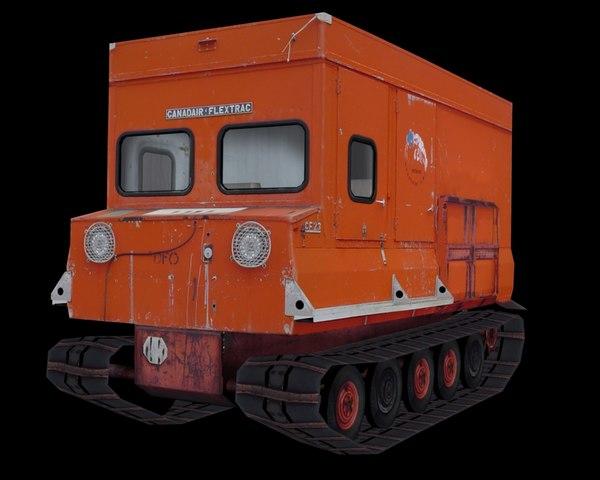 snow crawler 3d model