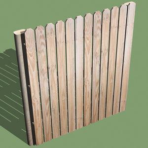 3d stockade fence