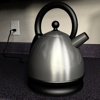 3ds max kitchen kettle