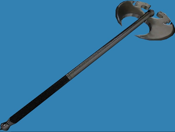 dragon axe ax 3d model