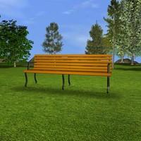 Park Bench.c4d