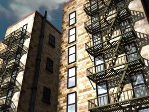 new york escape 3d model