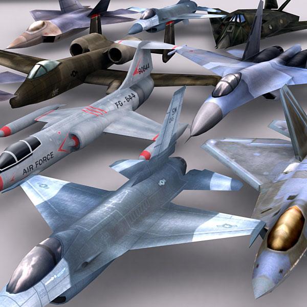 modern military 3d model