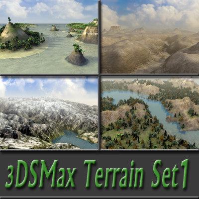 3dsmax landscapes stack