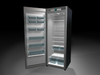 refrigerator fridge 3d model