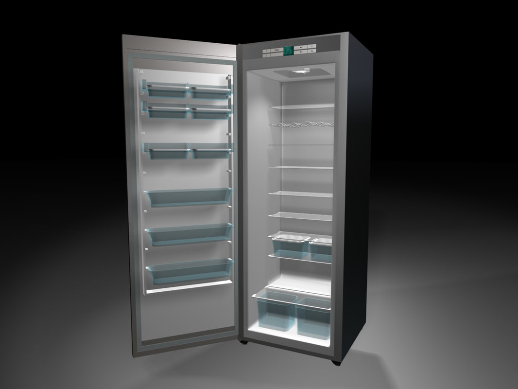 refrigerator fridge 3d model
