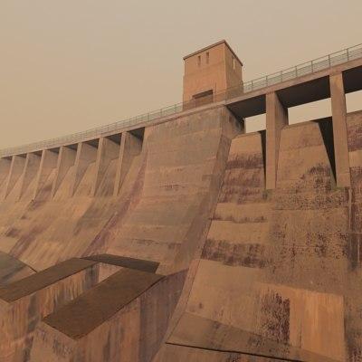 3d dam hydropower engines