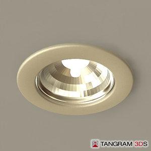 max recessed light