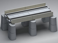 3ds dual straight conduit platform
