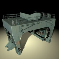 3dsmax winch crane