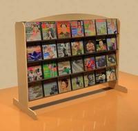 magazine rack shelf 3ds
