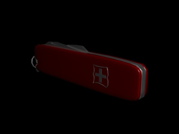 3d swiss army knife small model