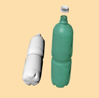 1.5 Litres PE Bottle with separate cap