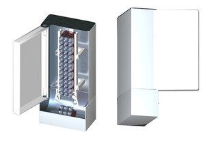 3d project automatic pe bottles model