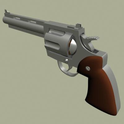 maya pistol revolver