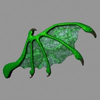 dragon wing 3d model