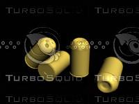 free jhp bullet 3d model