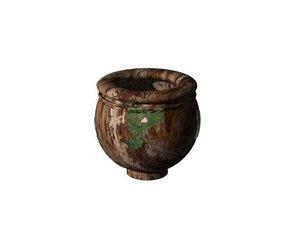 free large pot moss 3d model