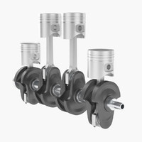 Crankshaft and Pistons