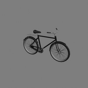 3d female bicycle