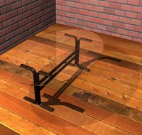 glass table max