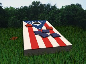 corn hole reactor 3d model