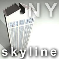 NY skyline - sony building