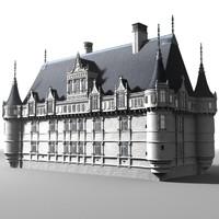 castle azay-le-rideau 3ds