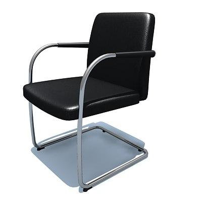 visasoft chair 3d max