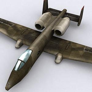 modern military aircraft 3d 3ds