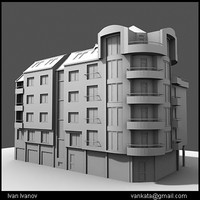 3d model of building architecture