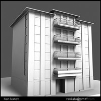 3dsmax hotel architecture building