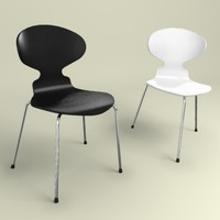 3d ant chair model