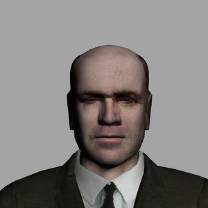 3d model generic male