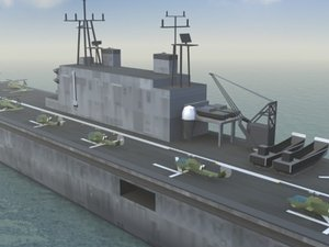 tarawa ship 3d model