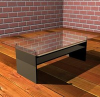 modern glass table max